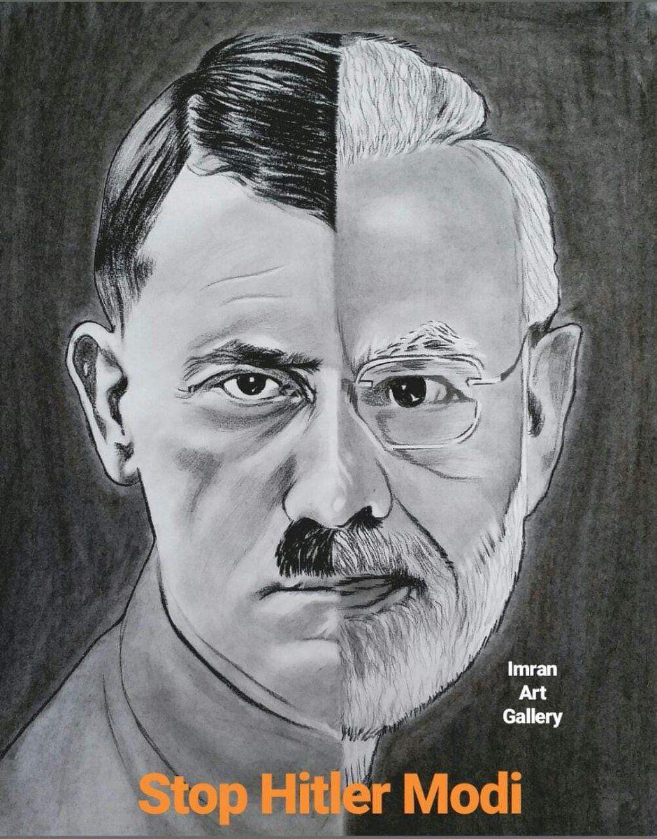 Modi Visits Bangladesh Hitler Modi | Twitter