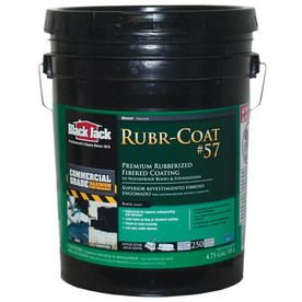 Black Jack 4 75 Gallon Fibered Waterproof Roof Sealant With Images Roof Sealant