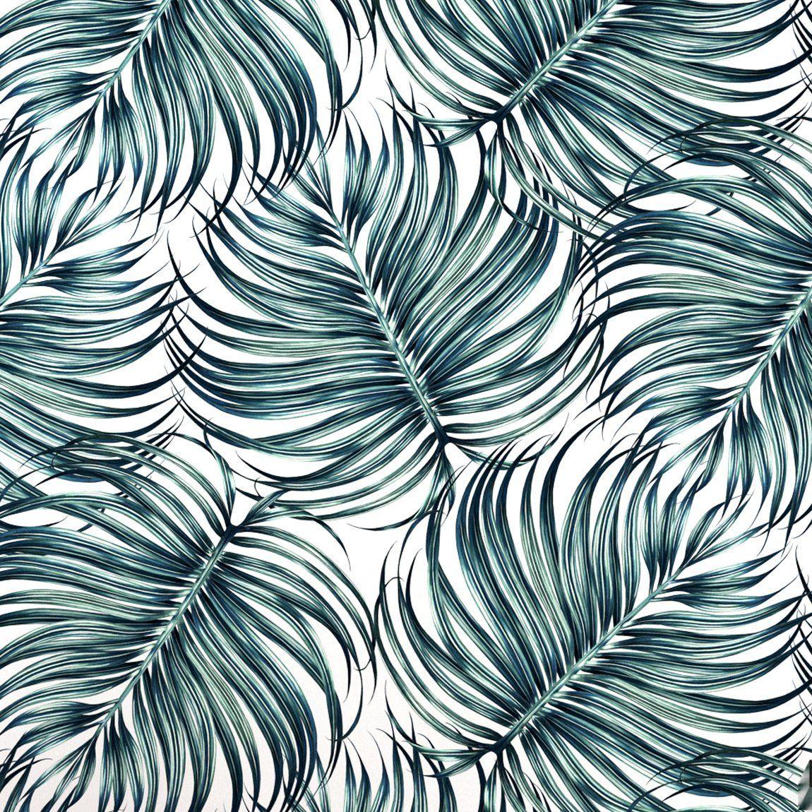 Summer Palm Wallpaper