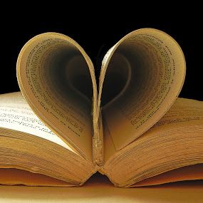 Book of Love by Brenda Bihlear - Artistic Objects Other Objects ( love, books, sepia, heart, literature,  )