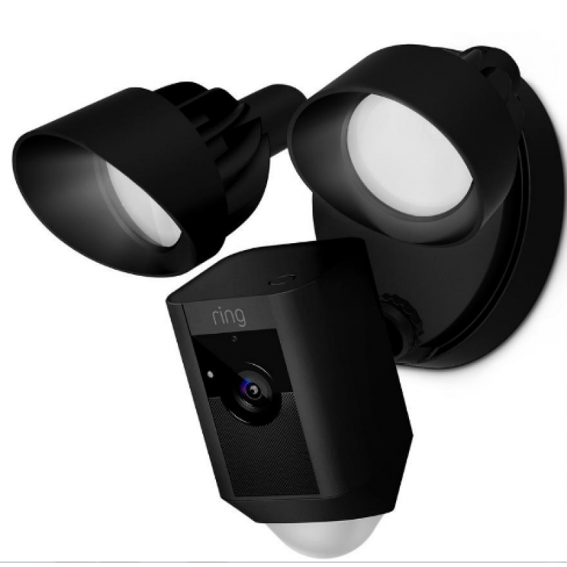 Ring™ Video Floodlight 48p Camera With 48Way Talk And Siren Ring Inspiration Exterior Cameras Home Security Minimalist Collection