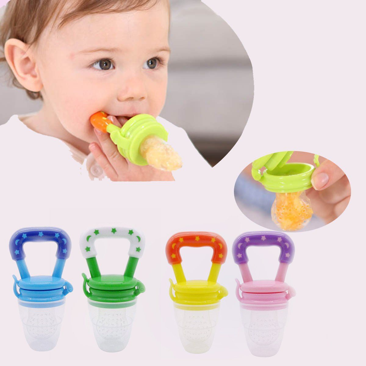 Baby Teething Toys Teether Dummy Infant Toy Teethers Newborn Feeding Infant Kids