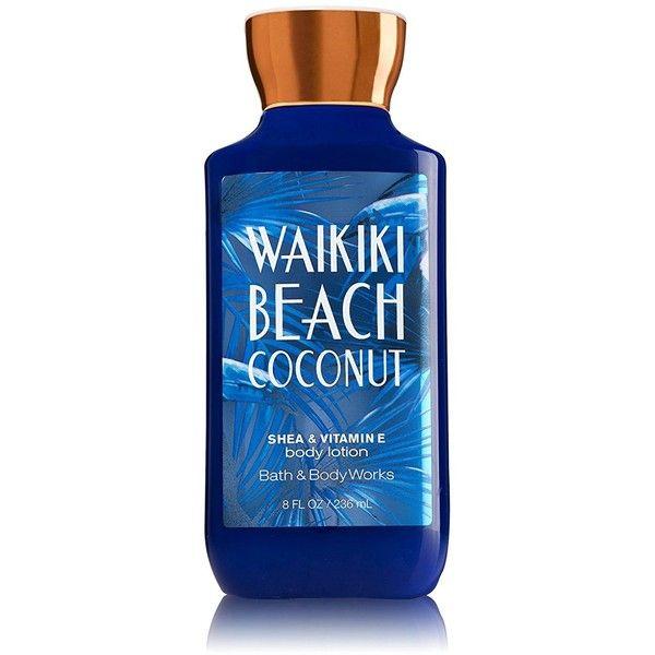 Bath Body Works Shea Vitamin E Lotion Waikiki Beach Coconut