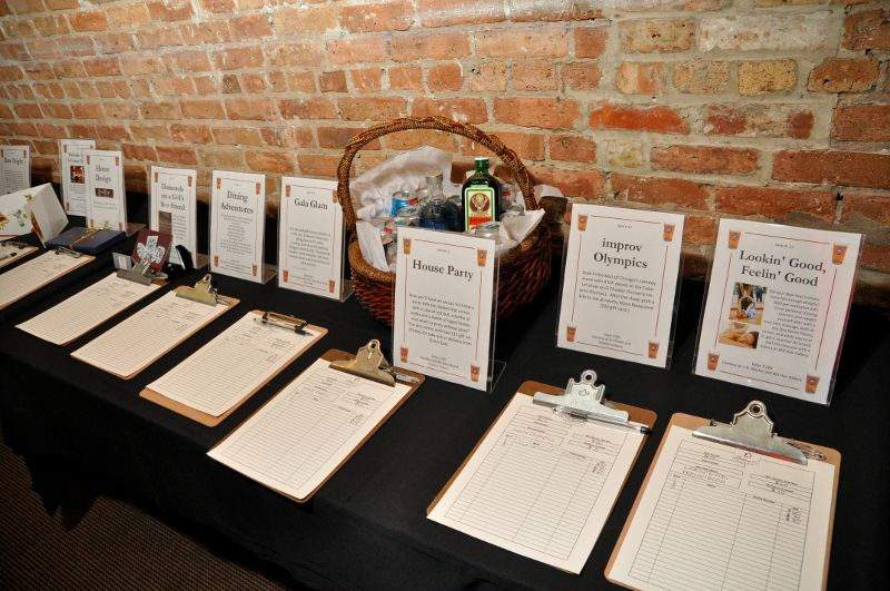 ways to display gift certificates