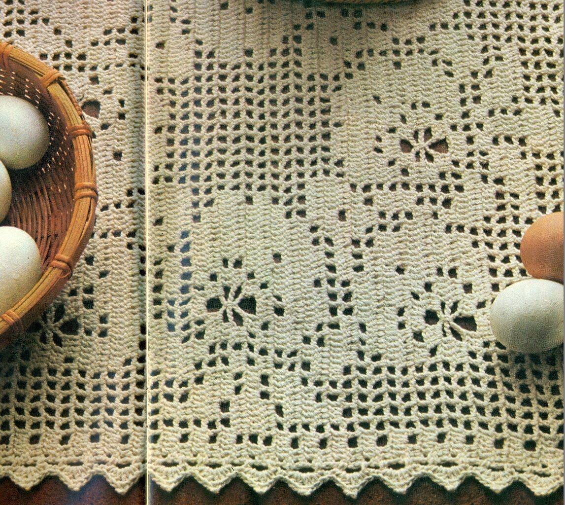 Resultado De Imagen Para Mantel Rectangular Crochet Patrones Gratis Pattern Michael Kors Monogram Crochet