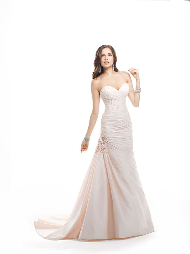986ae618ad3 We love the vintage-inspired Maggie Sottero Spring 2014 collection ...