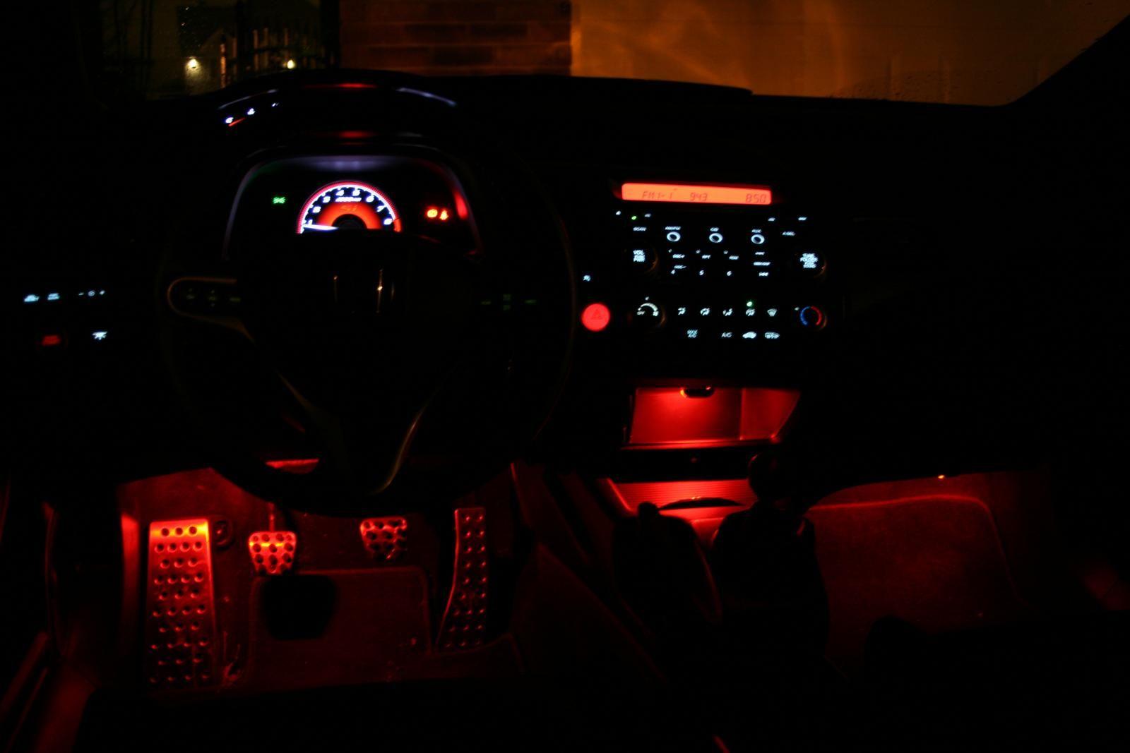 Red Led Interior Illumination Fog Lights All Things