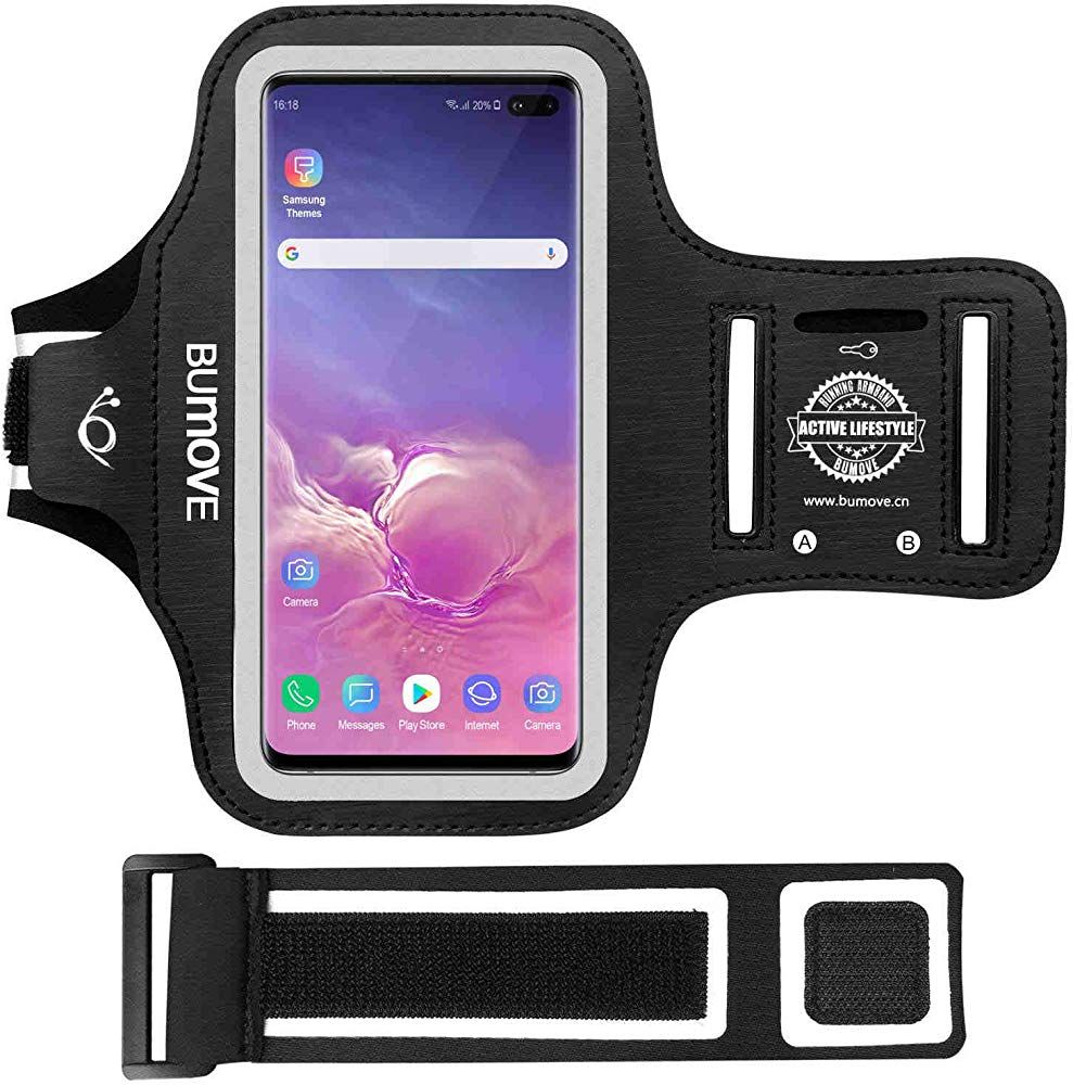 Galaxy S10 Plus/S9 Plus ArmbandBUMOVE Gym Running/Workouts Arm Band for Samsung Galaxy S10 Plus/S9 Plus/S8 Plus with Key/Card Holder (Black) #watches #jewelry #fashions #trends #moda #women #armbandworkouts