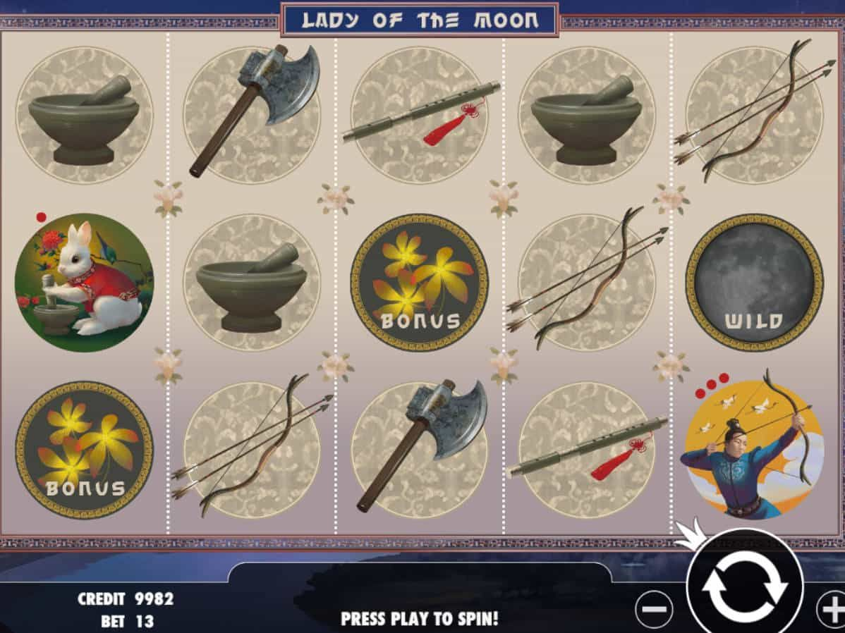 Spiele Lady Of The Moon - Video Slots Online