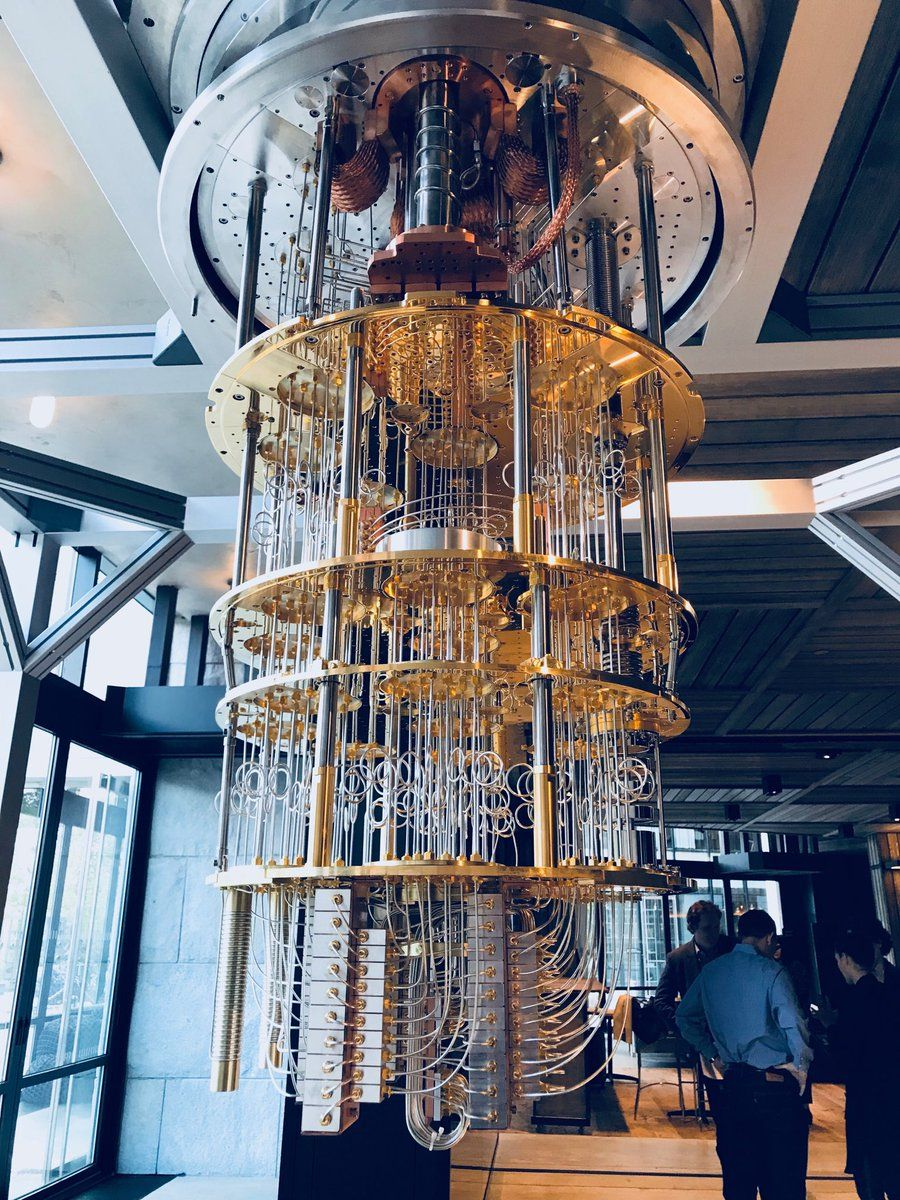 A work of art (and amazing science) — IBM's Quantum Computer