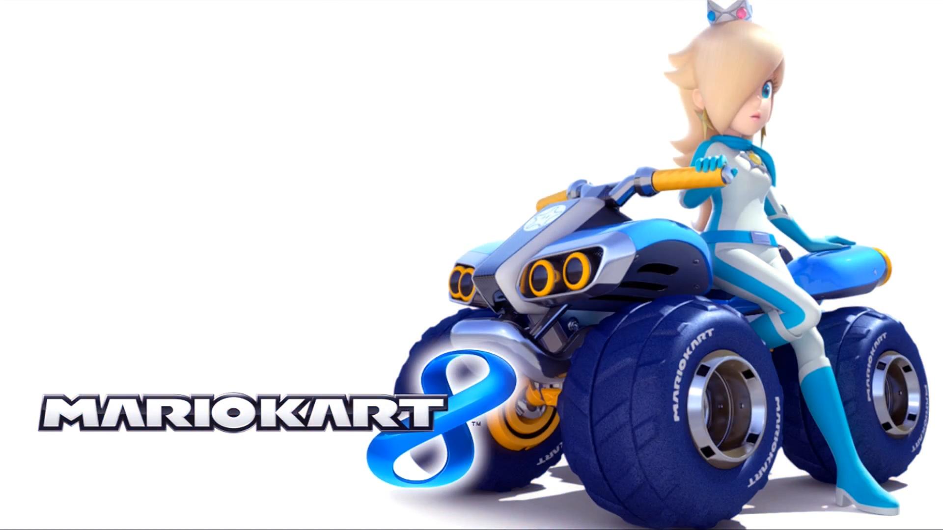 Mario Kart 8 Title Screen Rosalina Png Mario Kart 8 Mario Kart Mario Kart Wii