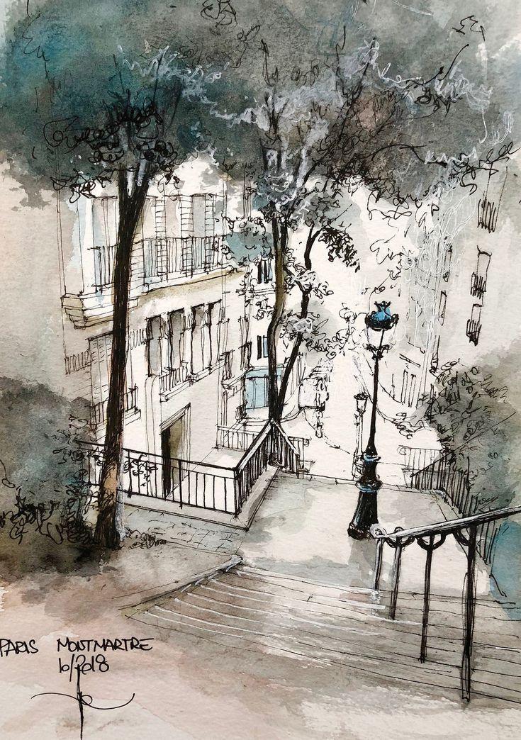 MONTMARTRE rue Chappe