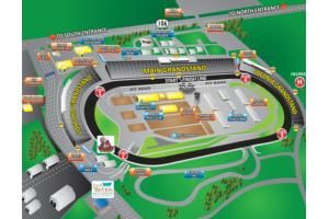 Track Maps Speedway Nhms Map Speedway Track