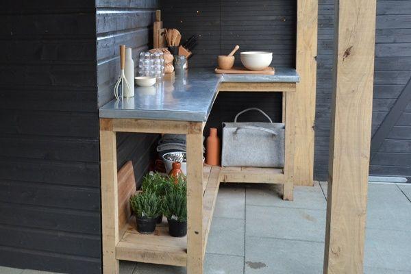 Natuurlijk modern tuinieren eigen huis tuin tuininspiratie pinterest tuinieren - Decoratie binnen veranda ...