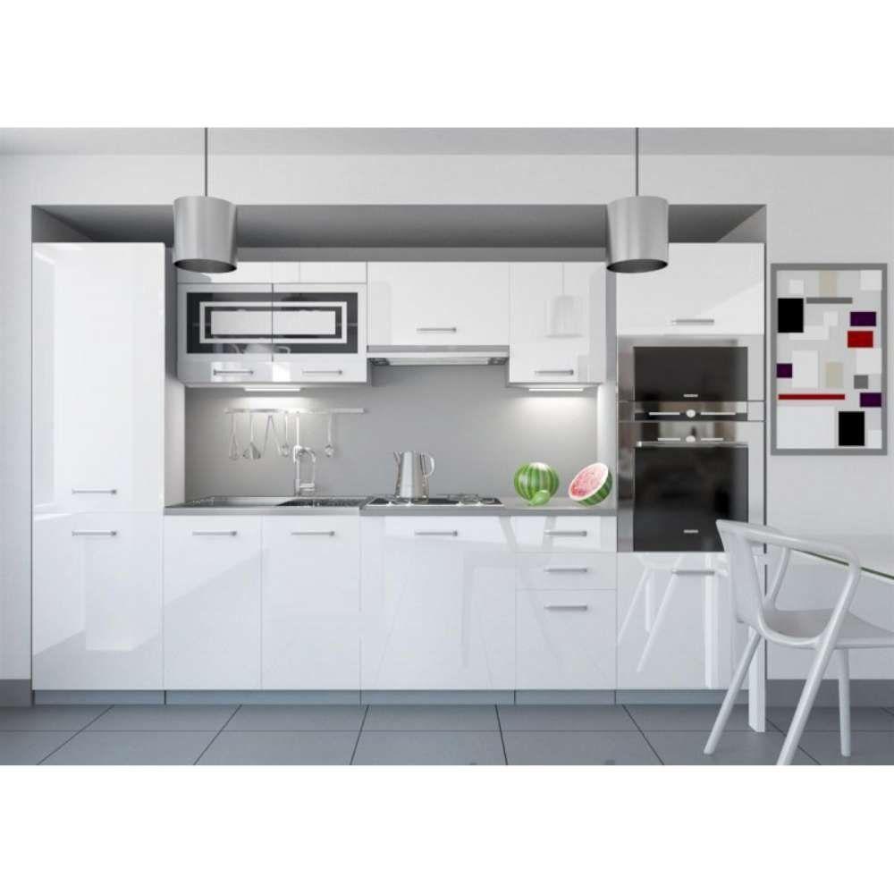 Zum Bestellen Küchenzeile Küchenblock Küche 300 cm Farbe