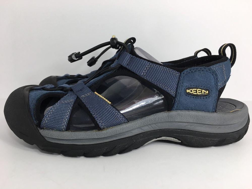 Keen Women's Venice H2 Sport Sandal Midnight Navy/Gray