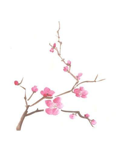 Tattoo Ideas Central Cherry Blossom Art Blossoms Art Cherry Blossom Painting