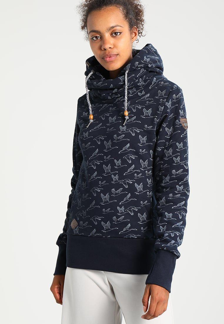 56a40bca90b7 Sweatshirts Ragwear HOOKED - Sweatshirt - navy bleu foncé  48,00 € chez  Zalando