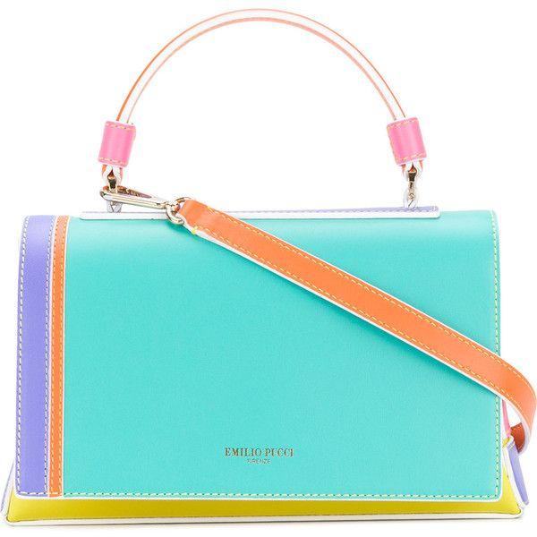 Bolso De Hombro Del Bloque Del Color - Multicolor Emilio Pucci ZwXf9SrjcP