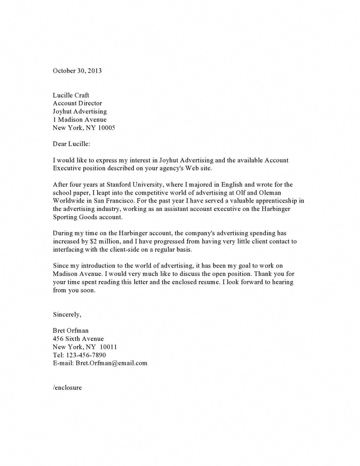 Sample Of Cover Letter Template #cover #coverlettertemplate #letter ...