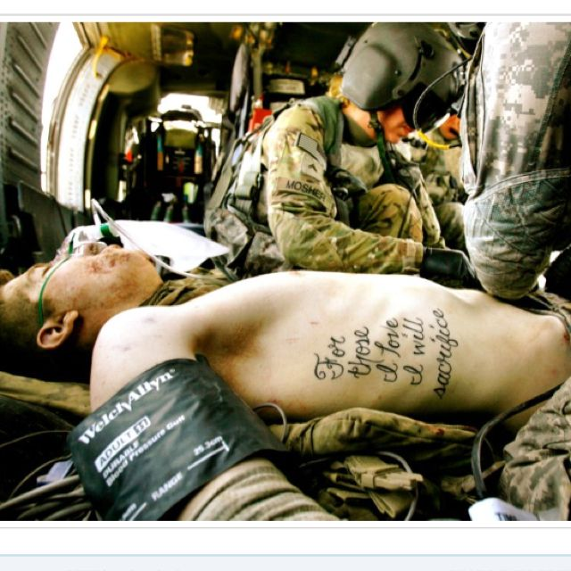 No Idle Boast: A Soldier's Tattoo Becomes Truth