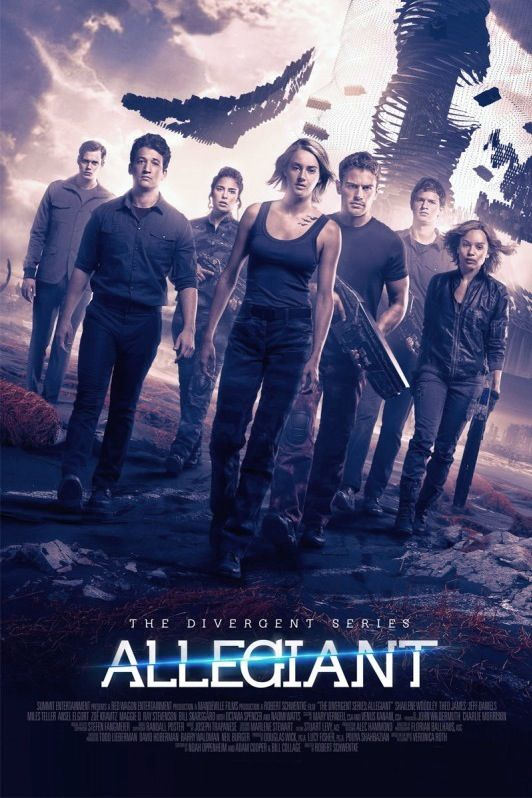 Poster Nou Allegiant Tv Spot Divergente 3 Divergente Film Divergente