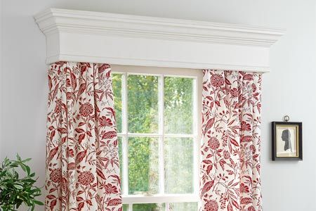 window curtain box design | Curtain Blog
