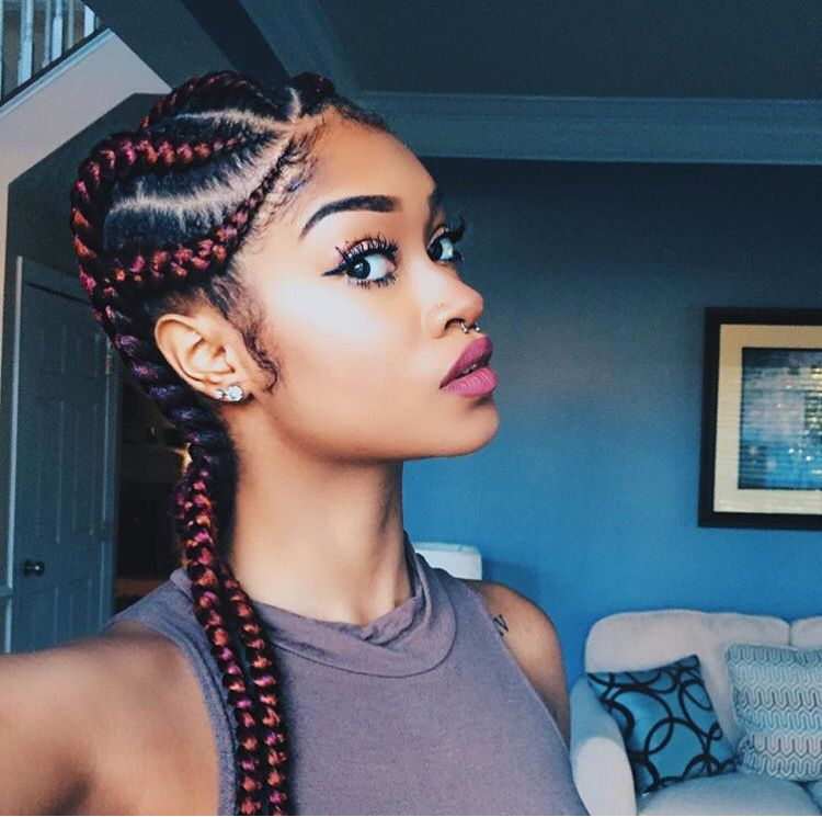 @smartistabeauty is so cute with these braids.