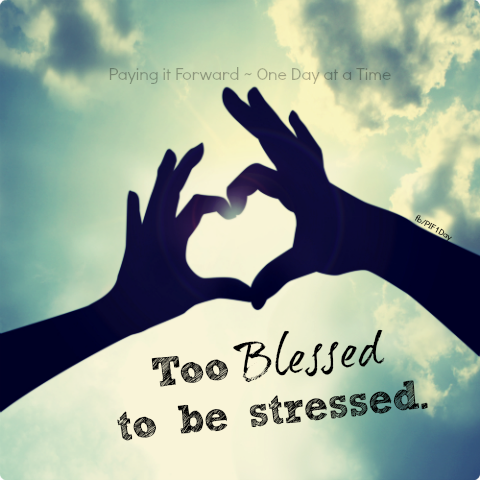 too blessed to be stressed | Quotes (Inspirational/Christian