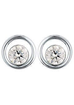 Canadianice 9ct Gold 0 60ct Floating Diamond Earrings Goldsmiths Jewellery Canadacalling