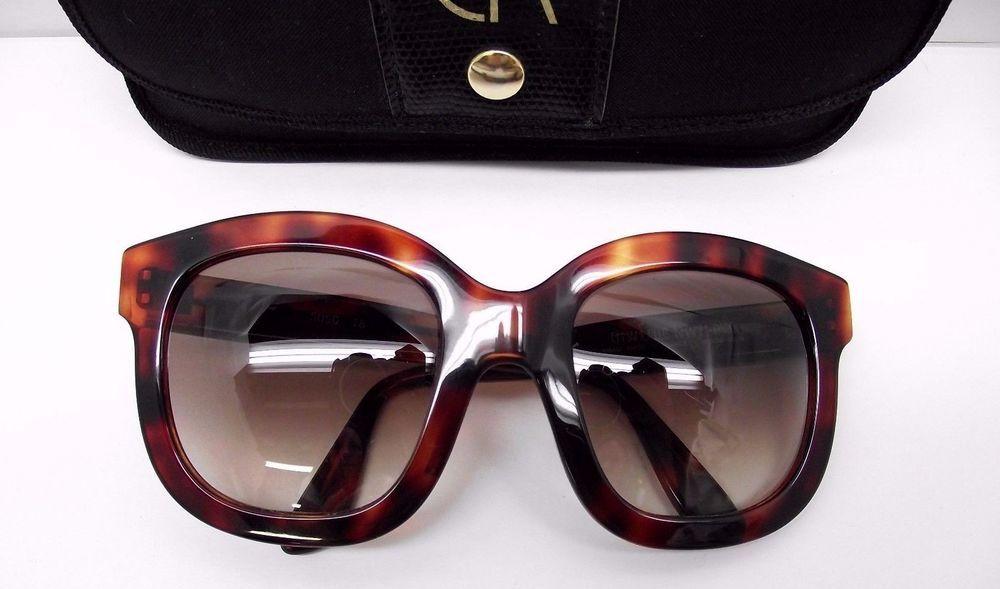 5d52816ea06b Emmanuelle Khanh Tortoise Sunglasses 5050 Oversize Paris France w case  Vintage  EmmanuelleKhanh  Oversize