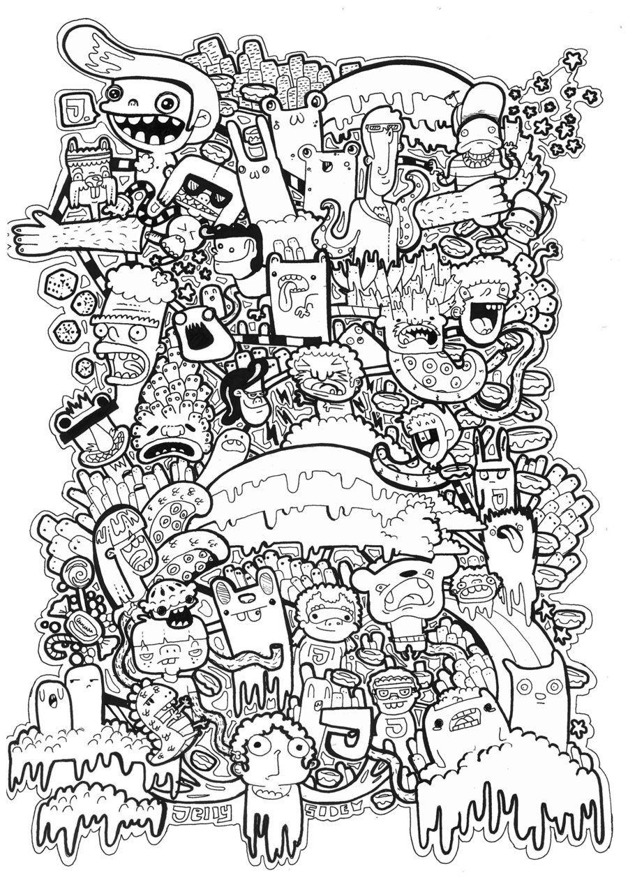 doodles t shirt graphic vol 2 by jellyside d46v64q jpg 900 1271