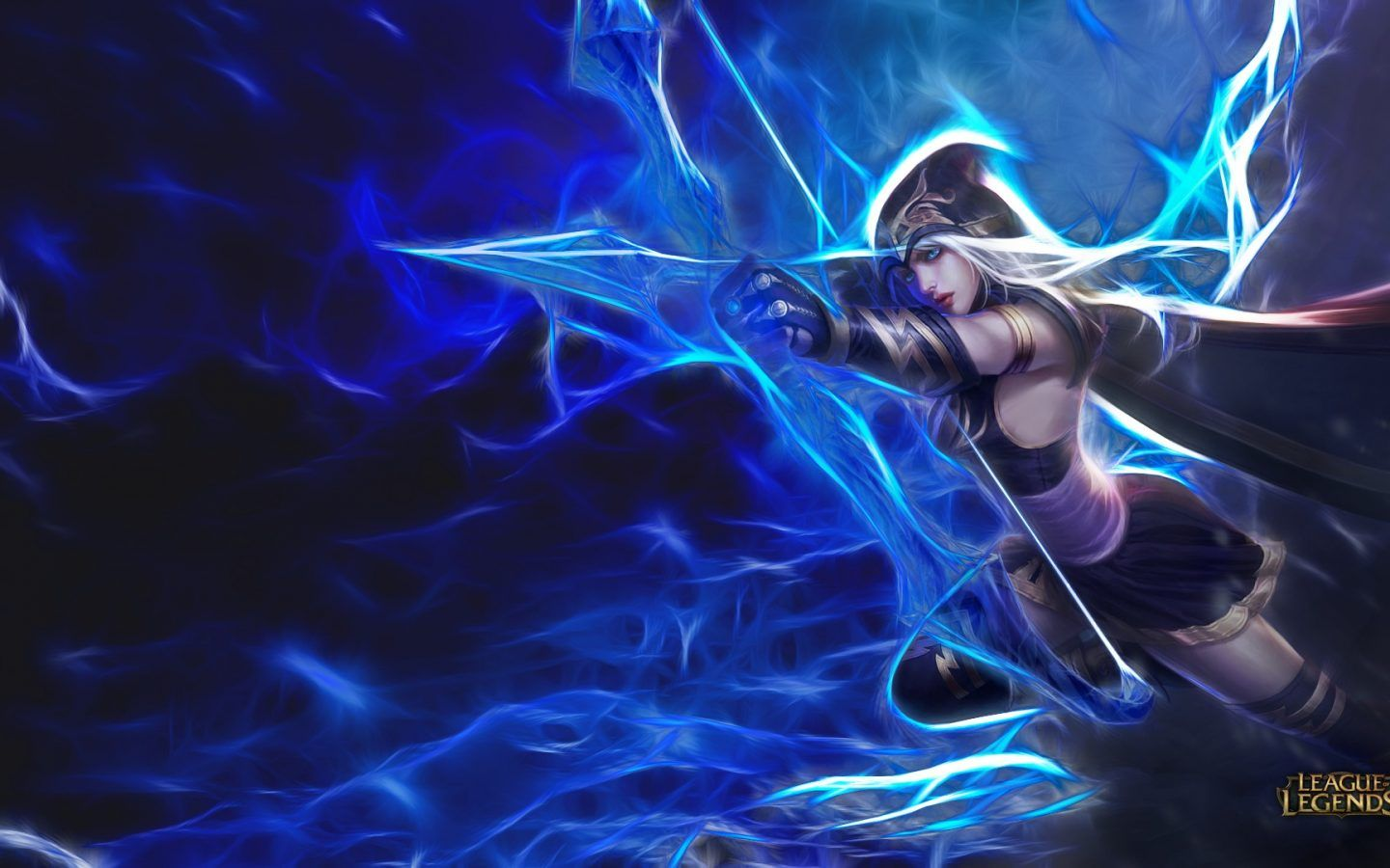 Ashe League Of Legends Archer Artistic Hd Wallpapers For Mobile