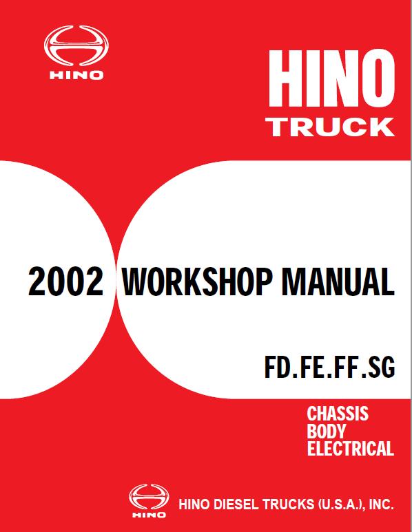 Hino Truck 2002 Service Manual | Hino, Trucks, Manual