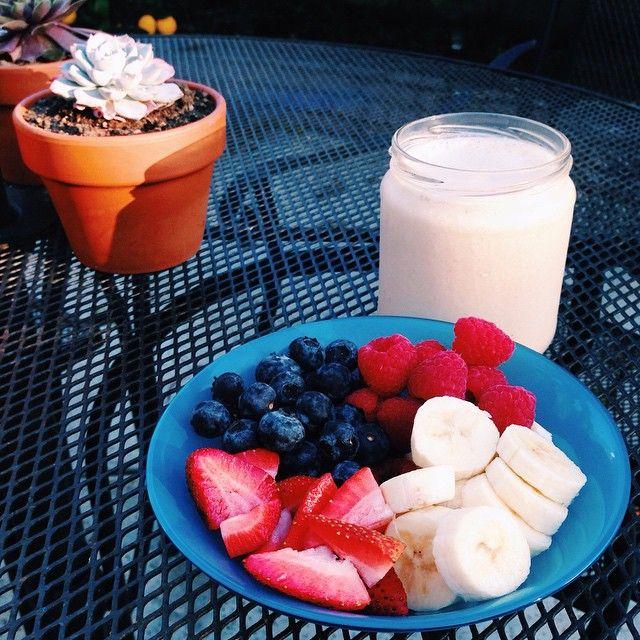 Idea desayuno de frutas #salud #estudiantes #umayor