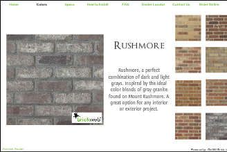 Simple fast genuine brick brickweb thin brick is the perfect simple fast genuine brick brickweb thin brick is the perfect interior or exterior do it yourself brick project solution brick is premounted on a webbed solutioingenieria Images