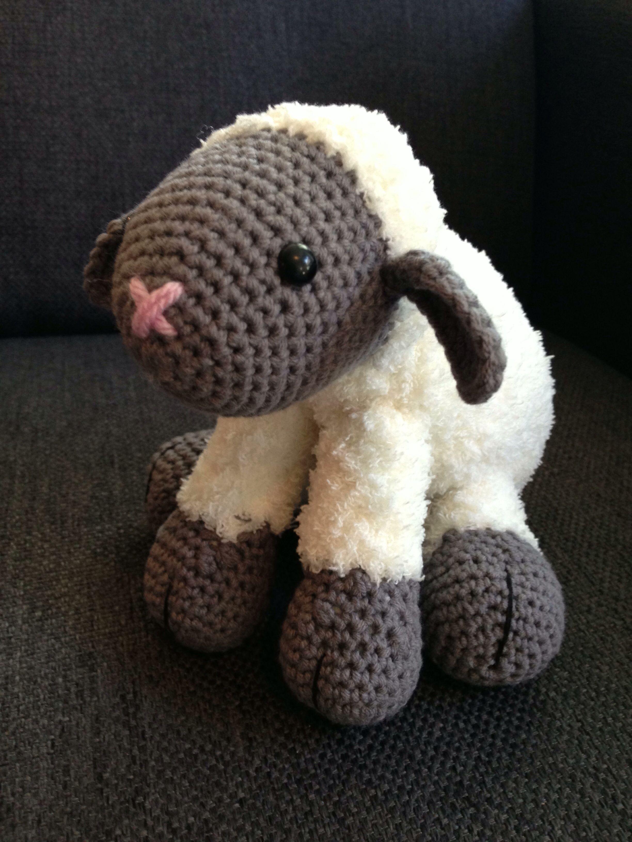 Fluffy Schaapje Zachtfluffy Dieren Haken Pinterest Crochet