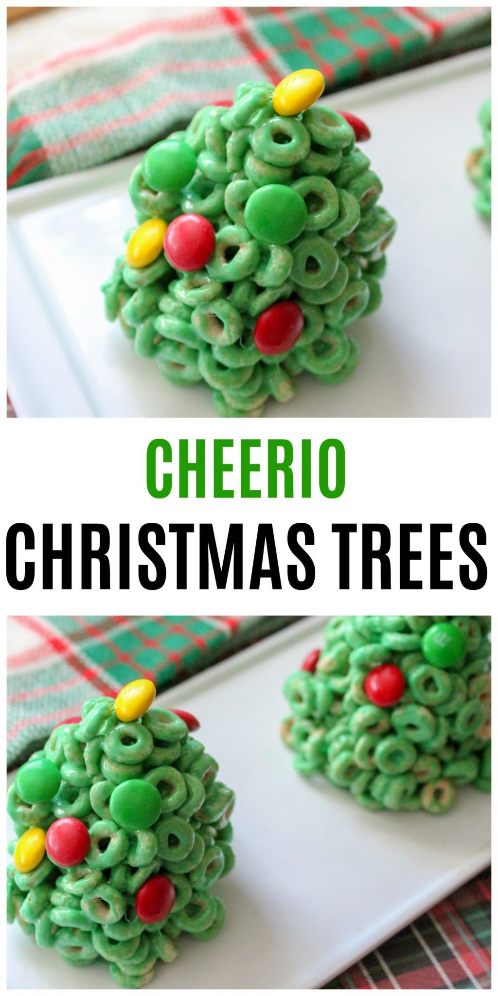 Cheerio Christmas Trees Recipe Makes a Great Holiday Snack