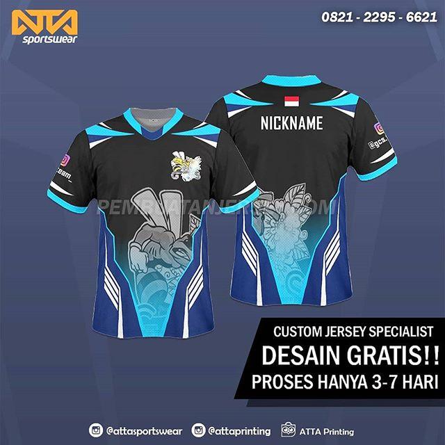 Desain Baju Esport