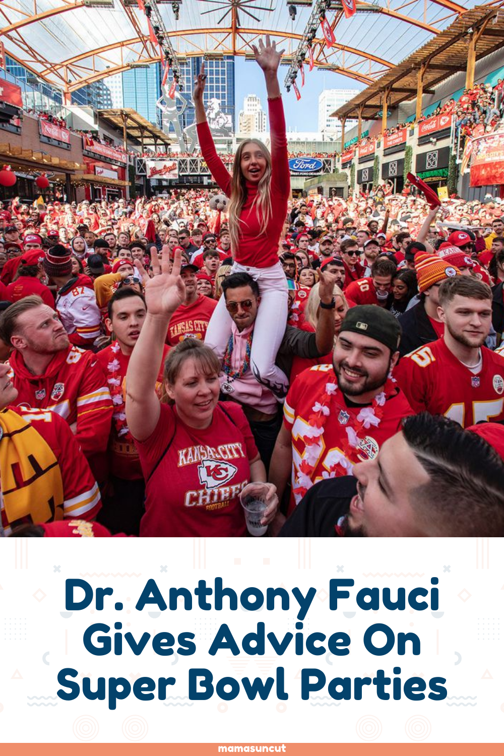 Dr Anthony Fauci Gives Advice On Super Bowl Parties In 2021 Superbowl Party Super Bowl Motivational Memes