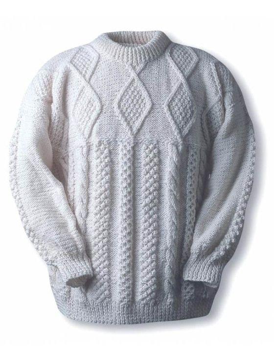 Sweeney Clan Sweater | вязание АРАНЫ | Pinterest