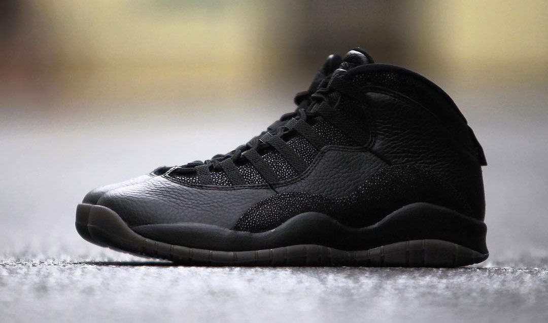 40783498bc0 Air Jordan 10 OVO Black. Air Jordan 10 OVO Black Jordan Release Dates ...