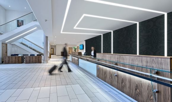 Pin By Philips Light Us On Led Office Lighting Linear