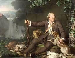 Chasseur Assis Dans Un Bois Et Caressant Son Chien By Henri Pierre