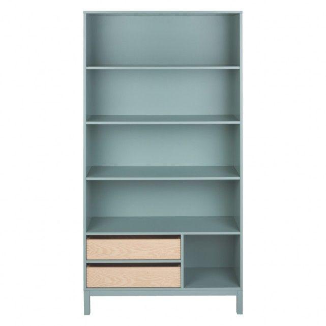 Elder Sage Green Tall Bookcase Now At Habitat Uk