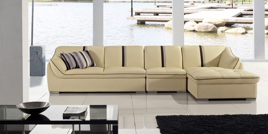 Cream Colored Sectional Sofa Contemporary Sectional Sofa Latest Furniture Designs Sofa