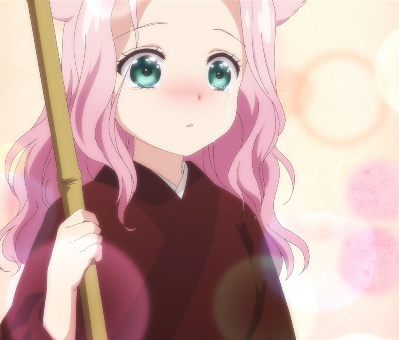 Episode 3 Of Konohana Kitan Has Arrived Come Check Out Our Review Over At Anime Soltuion We Ve Got Hd Images Stitches And Gifs O Anime Episode 3 Episode