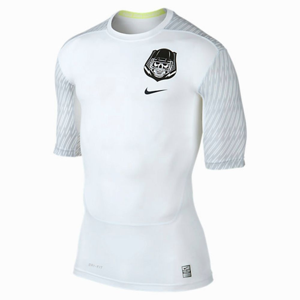 21f23a3a NIKE PRO COMBAT CORE COMPRESSION VAPORIZER HALF SLEEVE MEN'S FOOTBALL SHIRT  $35