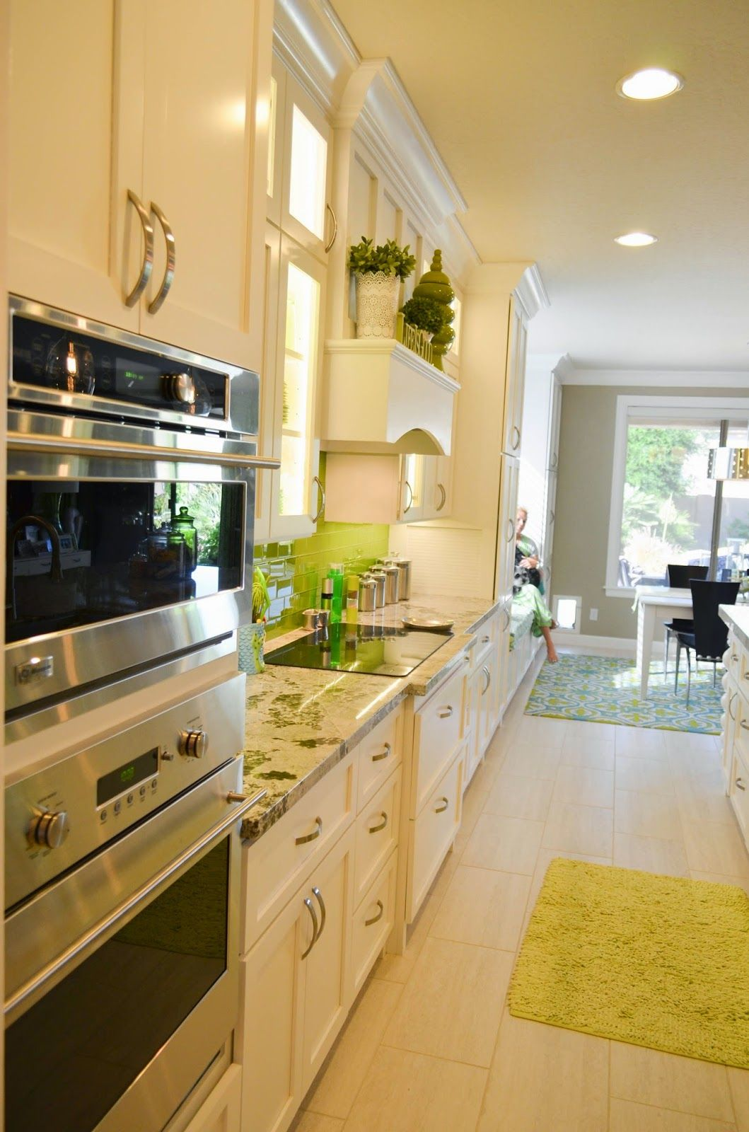 Best New Lime Green And White Kitchen With Images Green 400 x 300