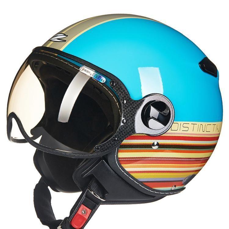 Dot Certified Chopper Open Face Vintage Helmet Vintage Helmet Open Face Motorcycle Helmets Leather Motorcycle Helmet
